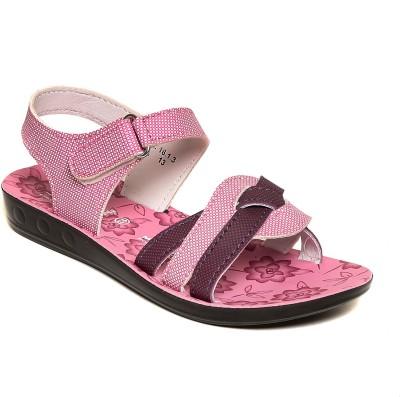 Lancer Girls Pink Flats