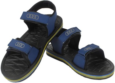 Super Matteress Blue Men Blue, Black Sandals