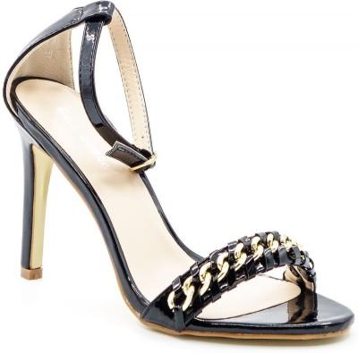 Belle Gambe Women Black Heels