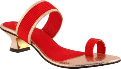 Liza Women Red Heels
