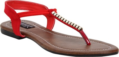 Versiliana Women Red Flats