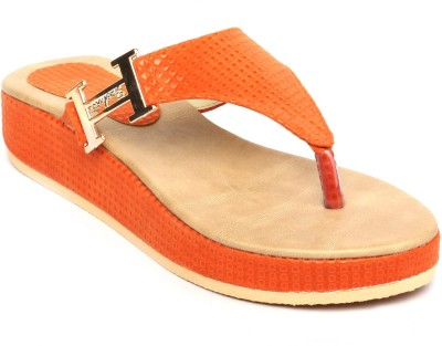 Gcollection Women Orange Flats