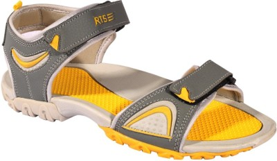 RTS Men Grey, Yellow Sandals