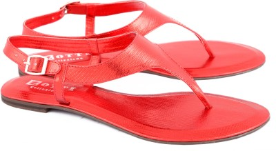 Zotti Croco Women Red Flats