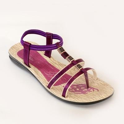Recent Collection Girls Purple, Pink Sandals