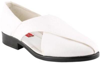 MBH Men White Sandals