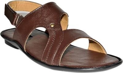 SSF Men Brown Sandals