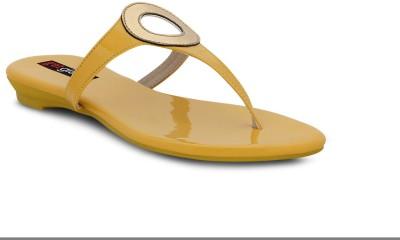 Get Glamr Women Yellow Flats