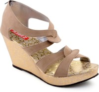 Kielz Women Beige Wedges