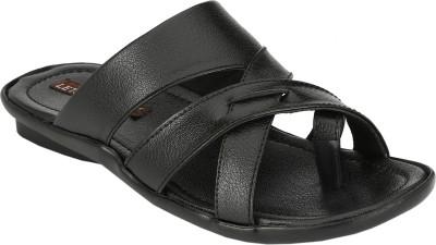 Letjio Men Black Sandals