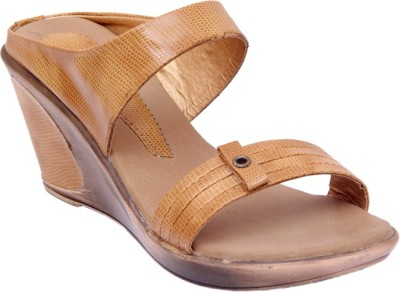 Lily Women Tan Wedges