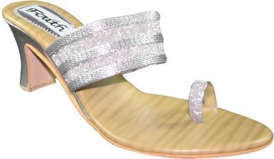 Faith 1000829 Women Silver Heels