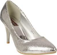 Flat n Heels Women Silver Heels