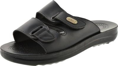 Aerosoft Men Black Sandals
