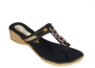 Recent Collection Women Black Wedges