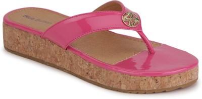 Blue Button Merrie Pink Women Pink Flats