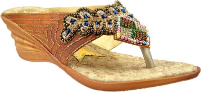 Supreme Leather Women Brown Heels