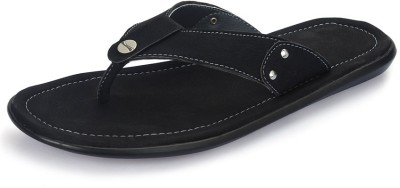 Nawaabs 2007 Men Black Flats
