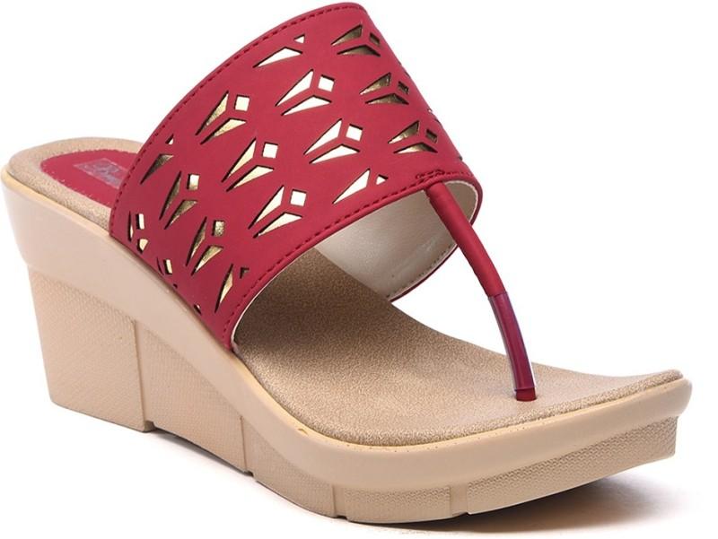 Bruno Manetti Women Red Sandals