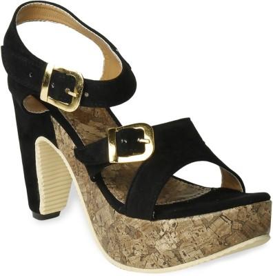 TEN Women Black Heels