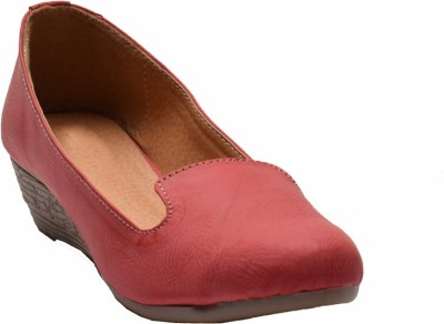 James Flippo Women Red Wedges