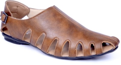 Peponi Men Beige Sandals