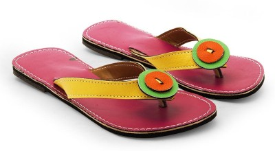 Tradition India Girls Pink Flats