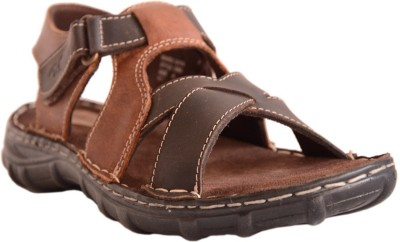 Mardi Gras Boys Brown Sandals