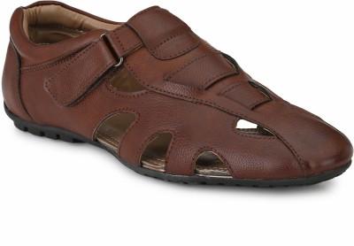 Mactree Men Maroon Sandals