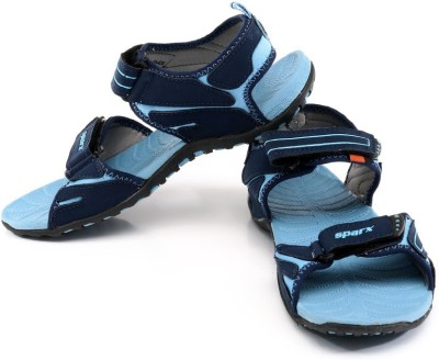 Sparx Women NavyBlueSkyBlue Sports Sandals