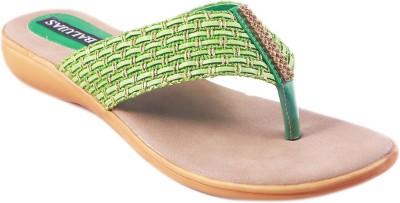Balujas Women Green Flats