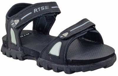 RTS Men Black, Grey Sandals