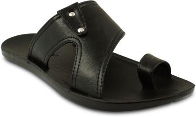 Amvi Men Black Sandals