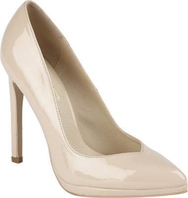 Truffle Collection Women Beige Heels