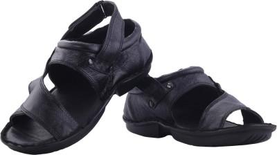 XQZITE Men Black Sandals