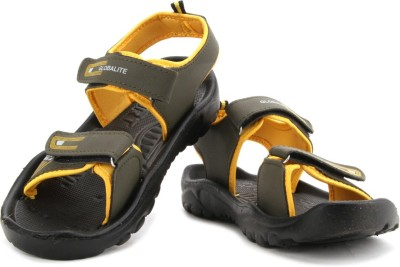 Globalite G Gear Men Green, Yellow Sports Sandals