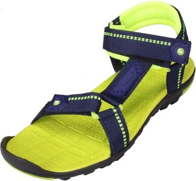 LEE WON Men Blue Sandals