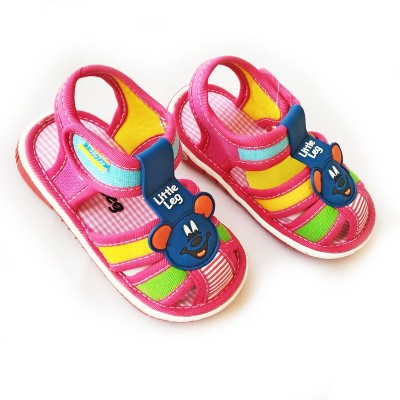 Stuff Jam Baby Girls Pink Sandals