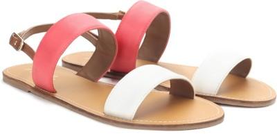 Carlton London CLL-3457 Women Pink, White Flats