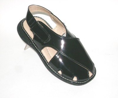Bambini Boys Black Sandals
