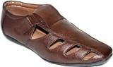 BLK LEATHER Men Brown Sandals