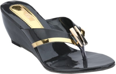 Collection13 Women Black Wedges