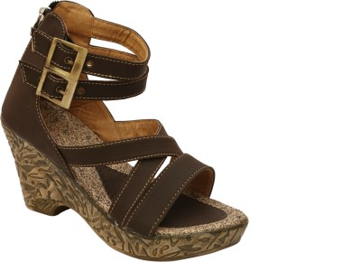 Remson India Women Brown Heels