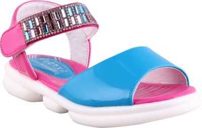FabSeasons Boys, Girls Pink Sandals
