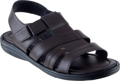 CITY FASHION Men Brown Sandals