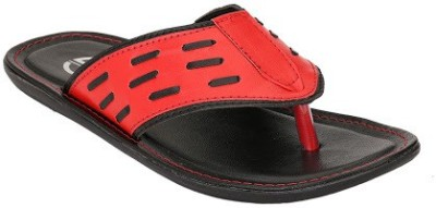 Jacs Shoes Men Red Sandals