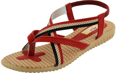 mgz Girls Red Sandals
