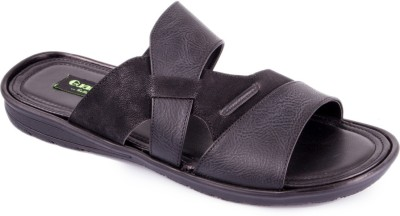 La Guardian Men Black Sandals