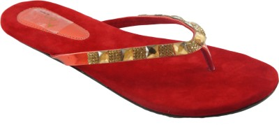 AM by Penny Women Red Flats