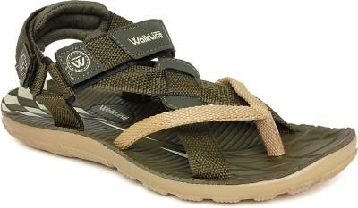 Walkline Men Beige Sandals